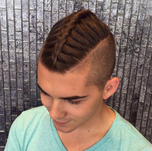 Pleasant Braids For Men 15 Braided Hairstyles For Guys Men39S Hairstyles Hairstyles For Men Maxibearus