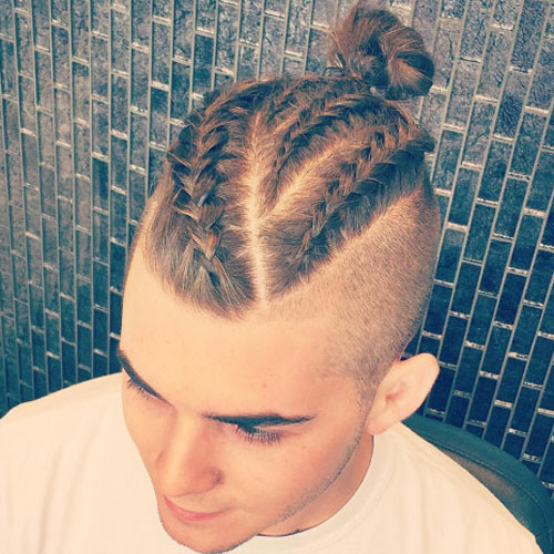 Awesome Braids For Men 15 Braided Hairstyles For Guys Men39S Hairstyles Hairstyles For Men Maxibearus