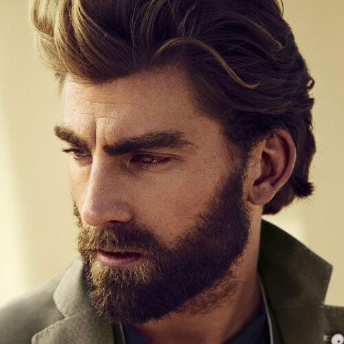 Awe Inspiring Top 61 Best Beard Styles For Men 2020 Guide Natural Hairstyles Runnerswayorg