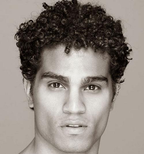 Medium Men's Hair