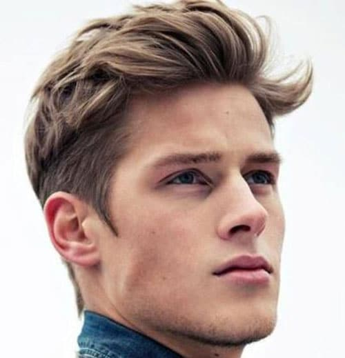 Mens Hairstyle Medium Length