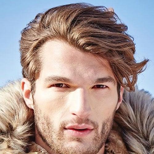 43 Medium Length Hairstyles For Men | Men's Hairstyles ...