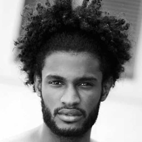 Medium Length Hairstyles For Black Men