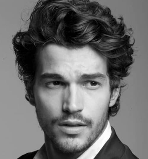 Mens Curly Hairstyles find this pin and more on hairstyles to try by trendyhairstyle curly hair men Men Curly Hairstyles