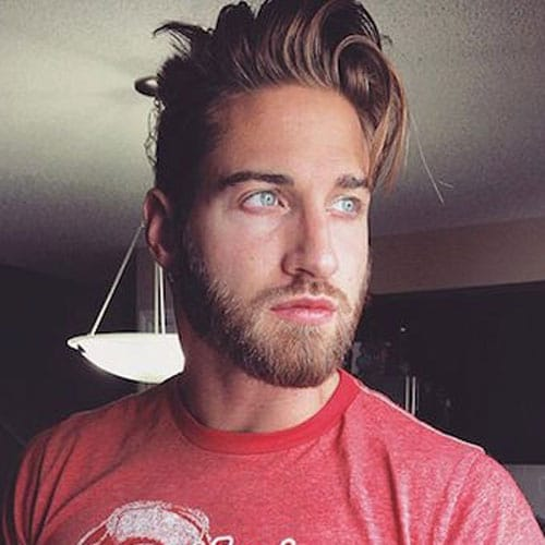Men's Beard - Short Beard and Long Hair
