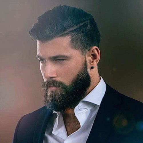 Men's Hairstyles with Beard styles