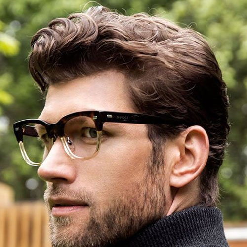 Medium length wavy mens hairstyles