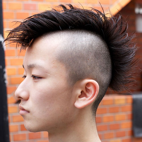Amazing 30 Mohawk Hairstyles For Men Men39S Hairstyles And Haircuts 2017 Short Hairstyles Gunalazisus