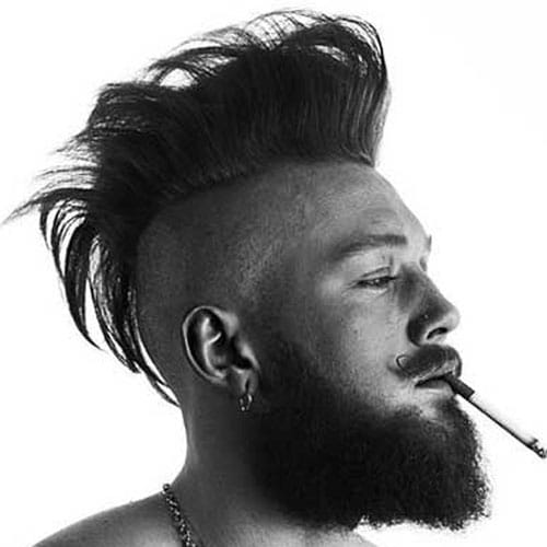 30 Mohawk Hairstyles For Men Men S Hairstyles Haircuts