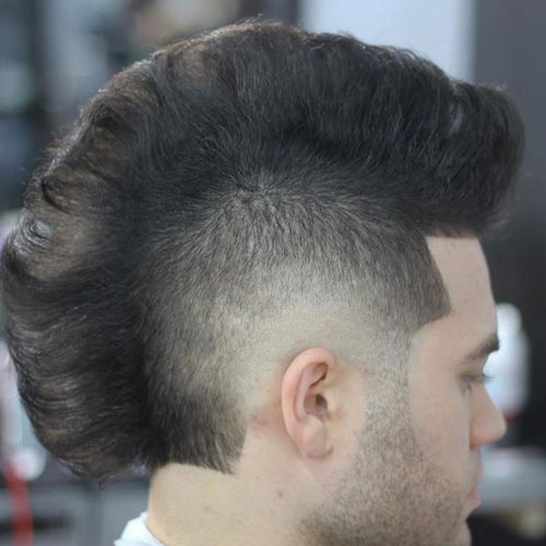 Men's Hair Tutorial: How to Cut and Style the Mohawk Fade
