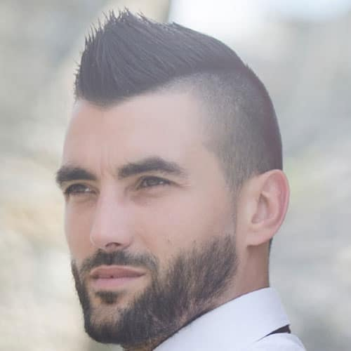 Peachy 30 Mohawk Hairstyles For Men Men39S Hairstyles And Haircuts 2017 Short Hairstyles For Black Women Fulllsitofus