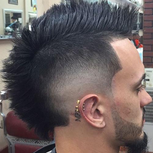 Stupendous 30 Mohawk Hairstyles For Men Men39S Hairstyles And Haircuts 2017 Short Hairstyles For Black Women Fulllsitofus