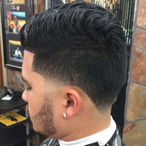 Blowout Hairstyle blowouts blast off at hair salons Blowout Taper Fade