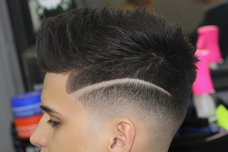 Blowout Haircut For Men Best Blowout Taper Fade For Guys
