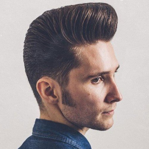 Terrific 27 Pompadour Hairstyles And Haircuts Men39S Hairstyles And Short Hairstyles Gunalazisus