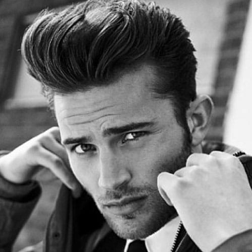 Stupendous 27 Pompadour Hairstyles And Haircuts Men39S Hairstyles And Short Hairstyles Gunalazisus