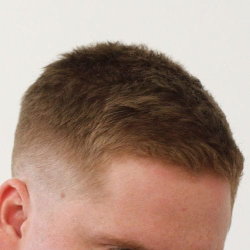Crew Cut Fade Haircut