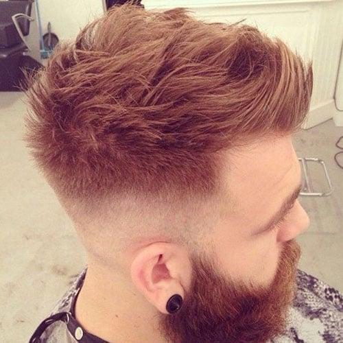 30 Faux Hawk Fohawk Haircuts For Men Men S Hairstyles