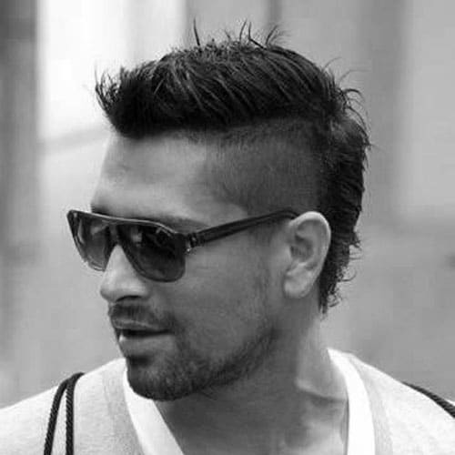 30 Faux Hawk Fohawk Haircuts For Men Men S Hairstyles