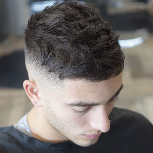 High Skin Fade and Textured Crop
