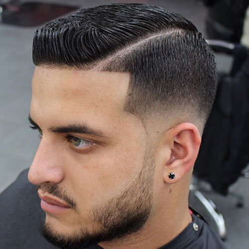 Line Up Haircut Styles Mens Hairstyles + Haircuts 2017 - Comb Over Hairstyle