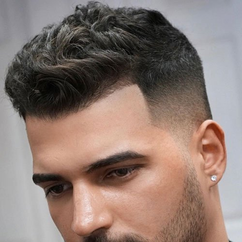 Men S Crew Cut Hairstyle