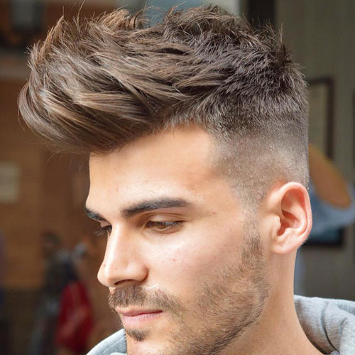 Long Spiky Hair with Fringe