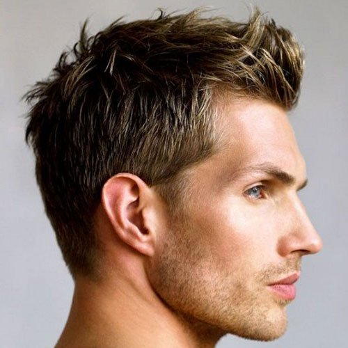 Fine Spiky Hairstyles For Men Men39S Hairstyles And Haircuts 2017 Short Hairstyles For Black Women Fulllsitofus