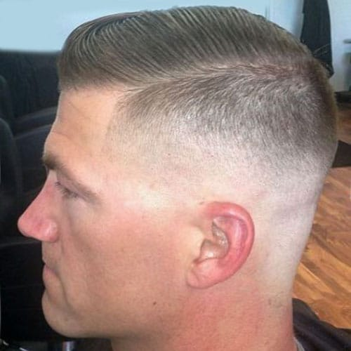 Military Haircut   Regulation Cut