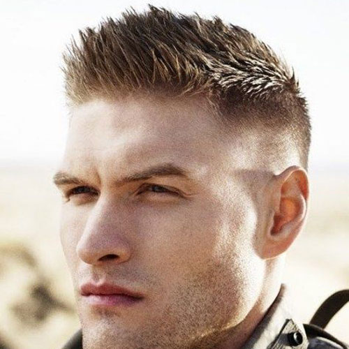 Astounding 19 Military Haircuts For Men Men39S Hairstyles And Haircuts 2017 Short Hairstyles Gunalazisus