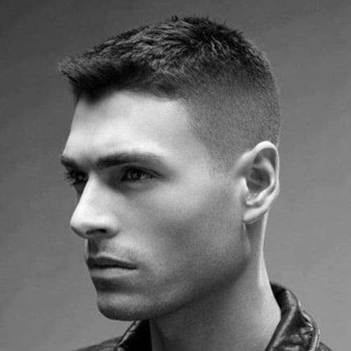 The Men's Crew Cut Haircut | Men's Hairstyles + Haircuts 2017