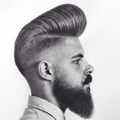 Long Pompadour