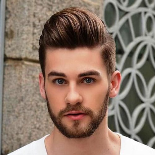 25 Pompadour Hairstyles and Haircuts