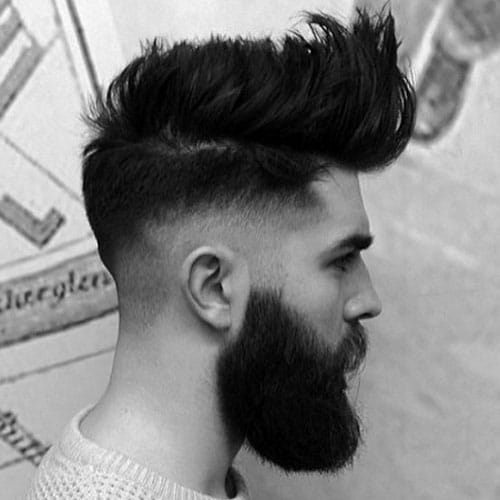 Long Pompadour Haircut