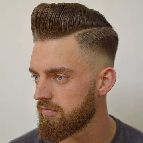 25 Best Pompadour Hairstyles Amp Haircuts For Men 2020 Guide