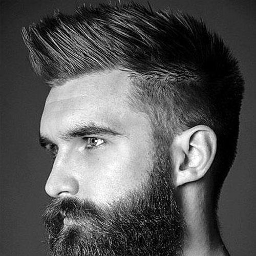 30 faux hawk fohawk haircuts for men mens hairstyles