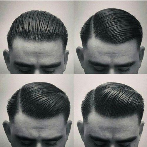 Magnificent Slicked Back Hairstyles Men39S Hairstyles And Haircuts 2017 Short Hairstyles Gunalazisus