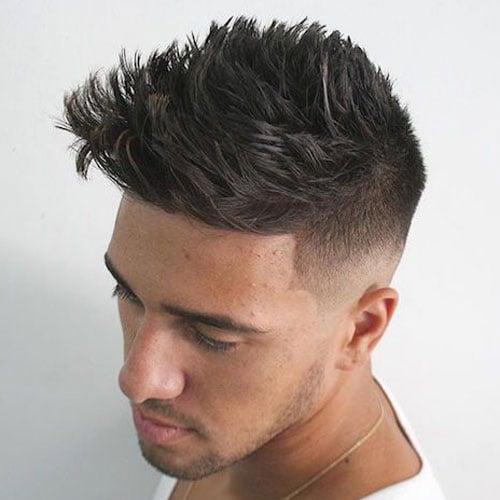 20 Spiky Hairstyles for Men in Modern Interpretation