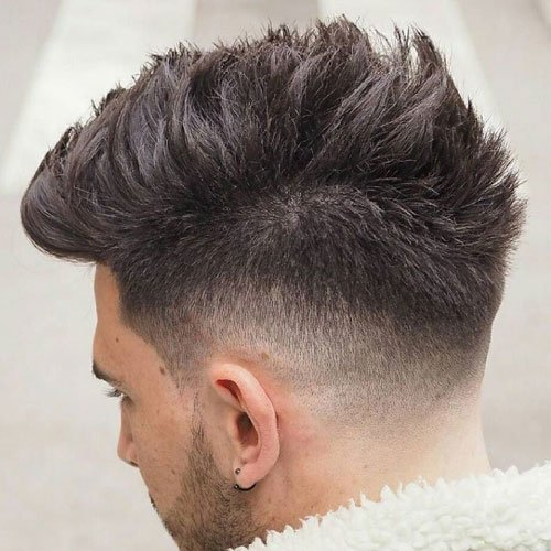Spiky Faux Hawk Fade