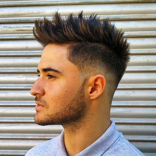 Cool 51 Best Spiky Hairstyles For Men 2020 Guide Schematic Wiring Diagrams Amerangerunnerswayorg