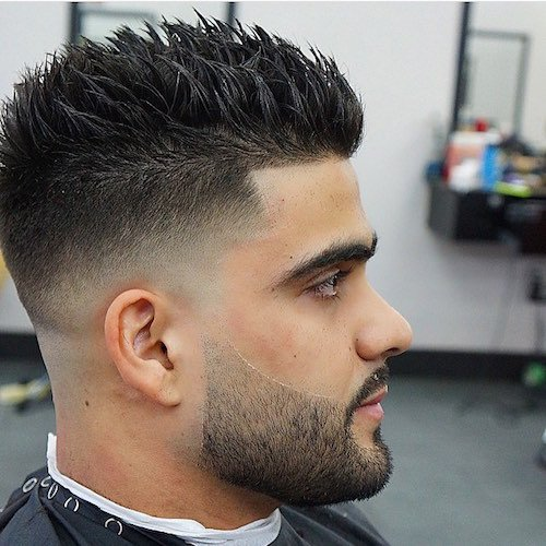 Peachy Spiky Hairstyles For Men Men39S Hairstyles And Haircuts 2017 Short Hairstyles Gunalazisus