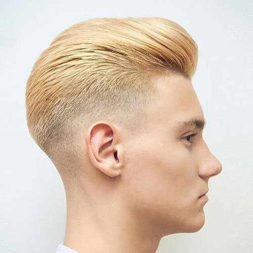 Blonde Fade Haircut