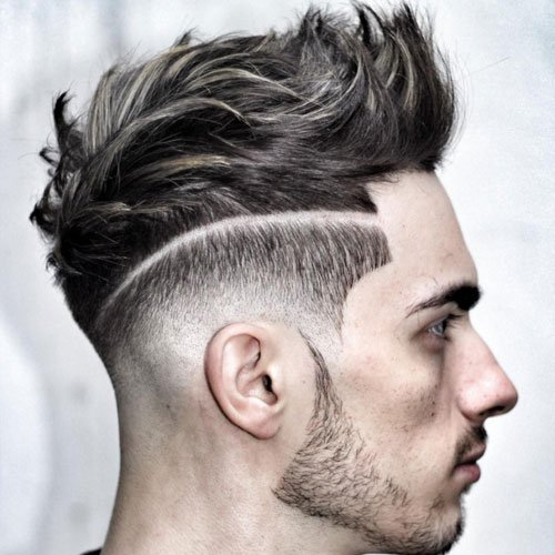 Cool Blonde Highlights For Men