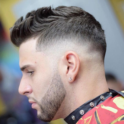 Strange The Taper Fade Haircut Types Of Fades Men39S Hairstyles And Short Hairstyles Gunalazisus
