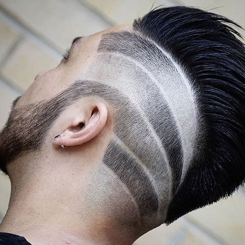 Faded Sides + Design + Mohawk