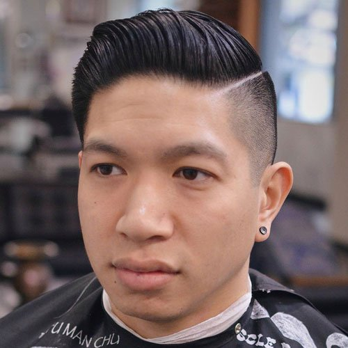 High Comb Over Fade