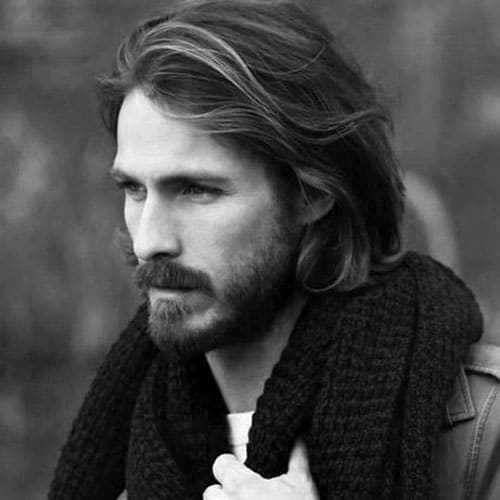 Guys Long Hairstyles mens long hairstyles Long Hairstyles For Men With Thick Hair