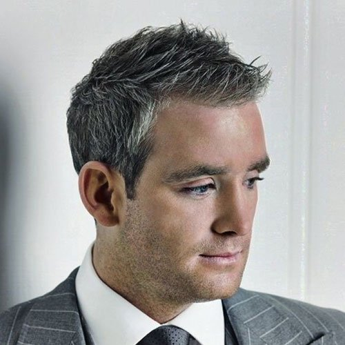 Men's Grey Hairstyles