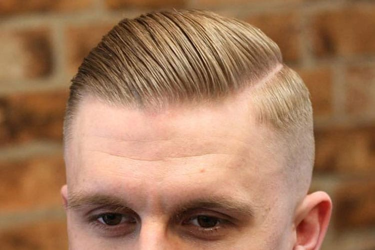 Men's Parted Hairstyles