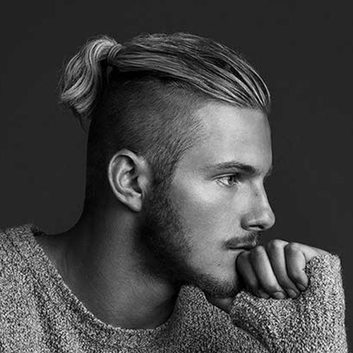 Men's Shaved Sides Hairstyles